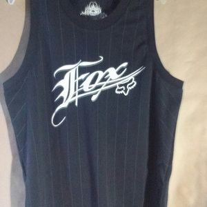 Fox Jersey Tank Top Mens Size Med